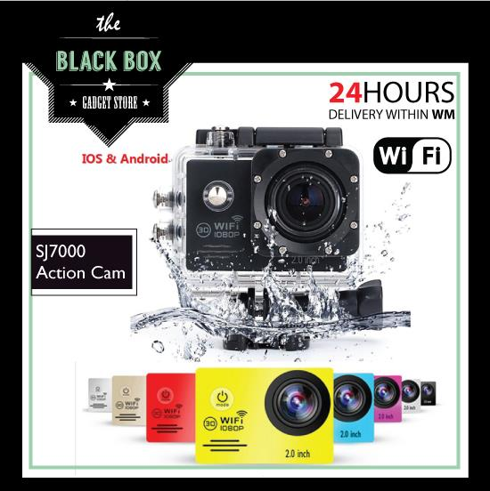 "SJ7000 Action Camera 2"" LCD Wifi Waterproof Sports Camcorder Go Pro"