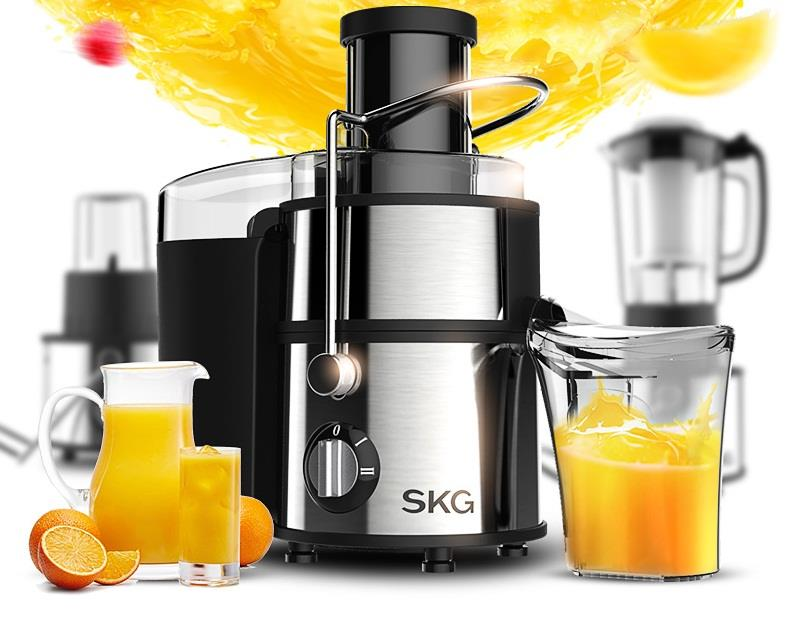 SKG 1326 Multifunction Automatic Fruit Juicer /Meat Grinder/Soymilk