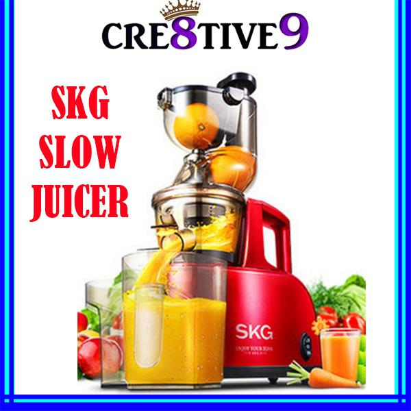 Review Slow Juicer Skg : SKG A8 Multifunctional Slow Juicer / Soymilk / Icecream / Milkshake 11street Malaysia - Rice ...