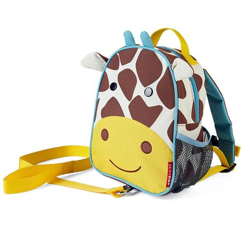 Skip Hop Zoo Let Mini Backpack with Rein - Giraffe - 100% Authentic