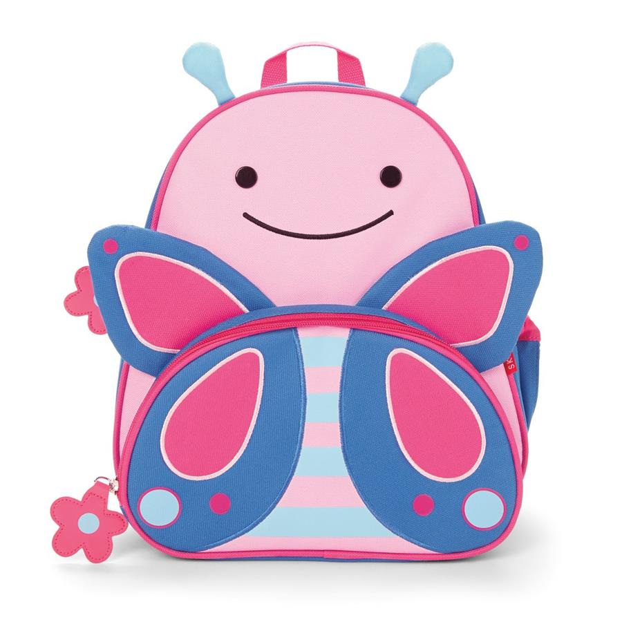 Skip Hop Zoo Pack Little Kid Back Pack Butterfly (100% Authentic)