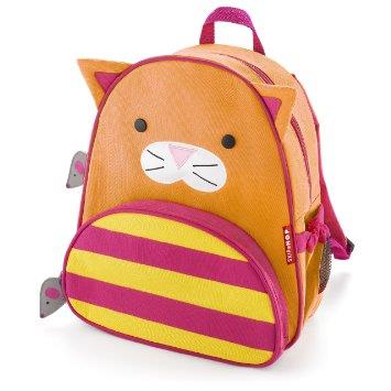 Skip Hop Zoo Pack Little Kid Back Pack Cat (100% Authentic)