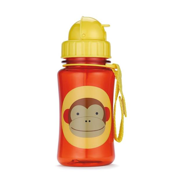 Skip Hop Zoo Straw Bottle - Monkey (100% Authentic)