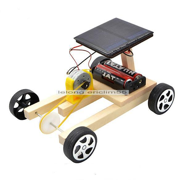 (SKIT02C) Solar Or Battery Power Car Kit