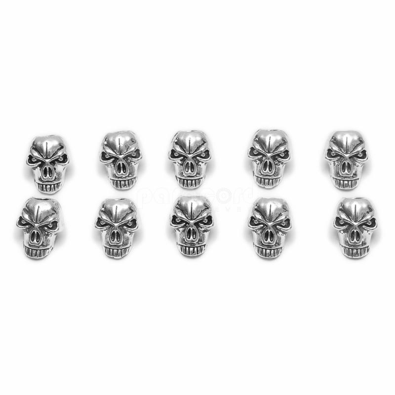 Skull beads for DIY paracord bracelet making - Type A