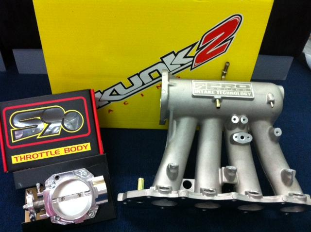 SKUNK2 Intake Manifold Honda B Series Type R + S90 Throttle Body *OFFE..