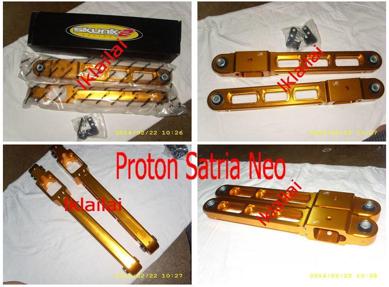 SKUNK2 Rear Lower Arm Bar Proton Satria/Wira/Persona/Gen2/Waja