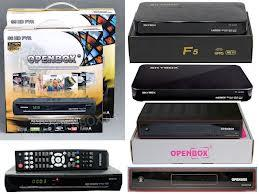 SKYBOX F3,F5,OPENBOX/EYEBOX X5 (INCLUDE 300 HD+SD CHANNELS LIST!!)