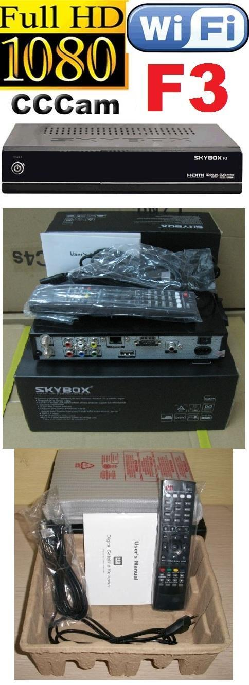(NEW) SKYBOX F3 SATELLITE RECEIVERvs DREAMBOX OPENBOX IBOX ASTRO FULL ..