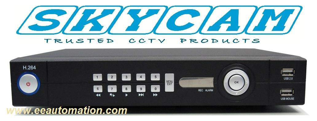 Skycam SK-7004 Series Taiwanese  CCTV Digital Video Recorder H.264 (DVR..