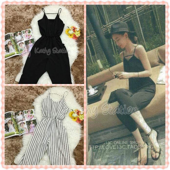 Sleeveless Casual Jumpsuit [10089]