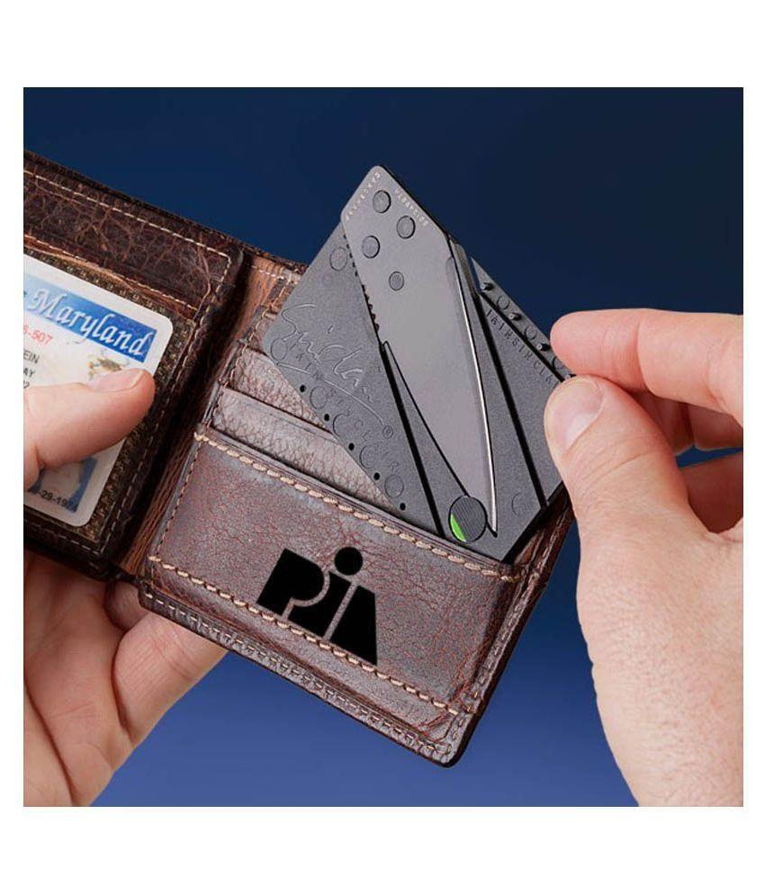 Slim/Thin Credit Card Foldable Utility/Safety Knife With Folder