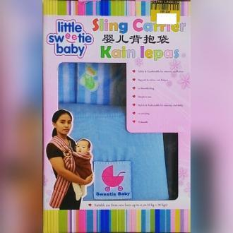 Sling Carrier Kain Lepas Suitable Use From New Born Up To 4 Years ( 0