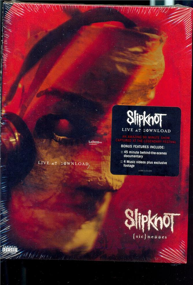 Slipknot (Sic) nesses - New Live DVD