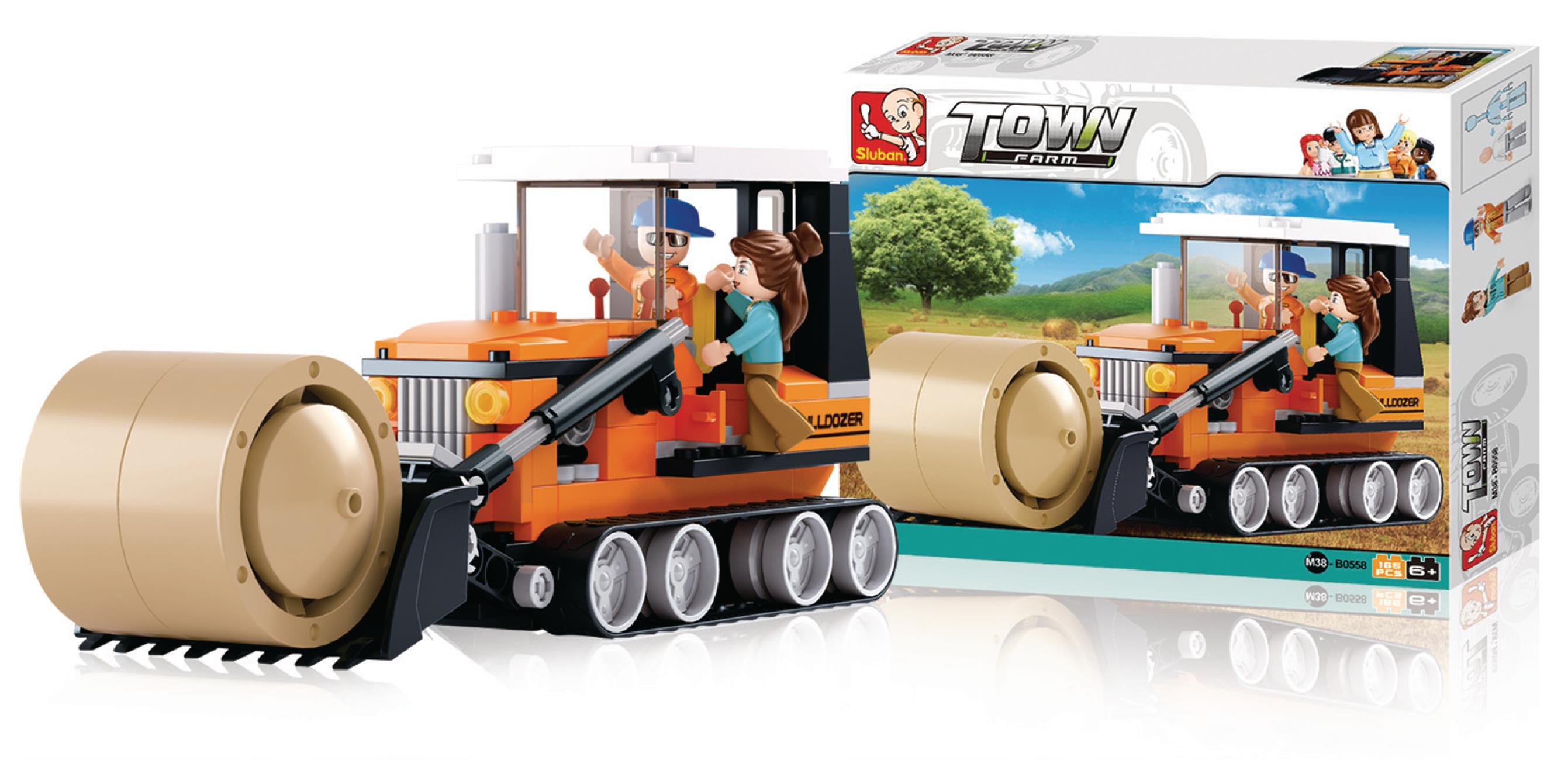 Sluban Harvester Building Set Couple Workhard  Creativity Toy