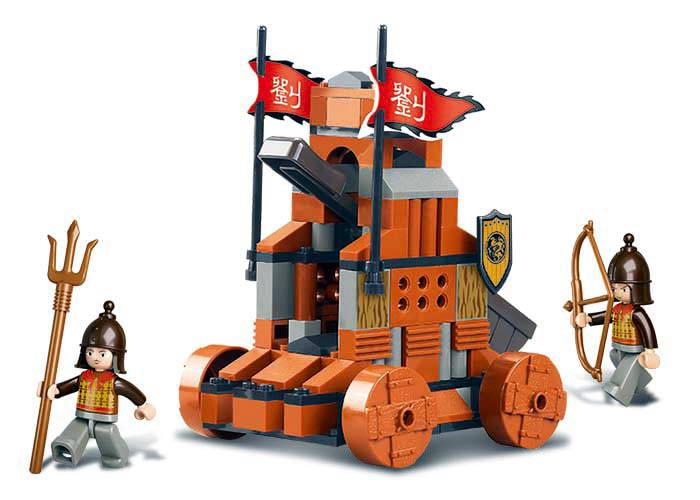 Sluban Three Kingdoms Paoche Lego Brick Compatible