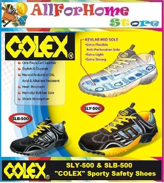 SLY-500 & SLB-500 'COLEX' SPORTY SAFETY SHOES