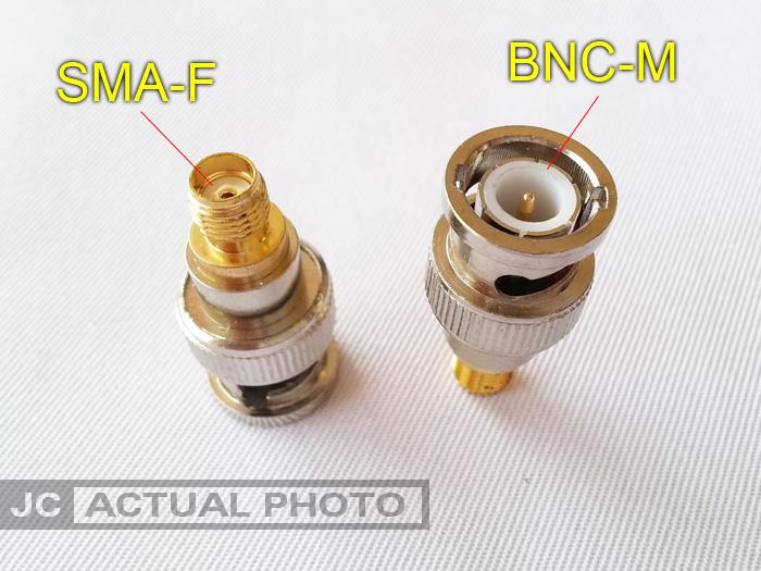 SMA Female to BNC Male Connector for Walkie Talkie