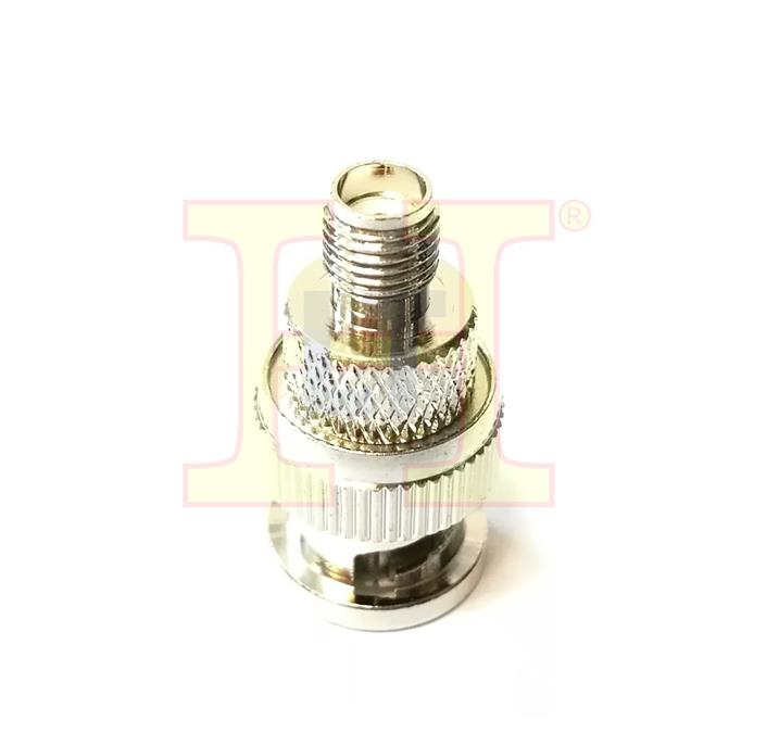 SMA FEMALE TO BNC MALE CONNECTOR (WALKIE TALKIE PARTS)