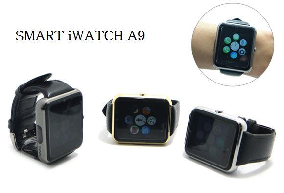 Smart iWatch A9 Bluetooth Screen Touch iOS Apple Android support