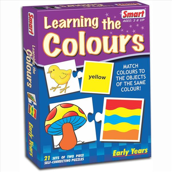 Smart Learning the Colours (Educational Puzzle)