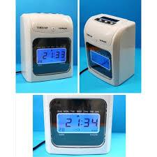 SMART TIME RECORDER CLOCK 6 COLUMNS FREE CARD - 3 YEARS WARRANTY