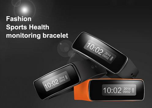 Smart Wear Bluetooth Bracelet V5 Sport Wrist Pedometer