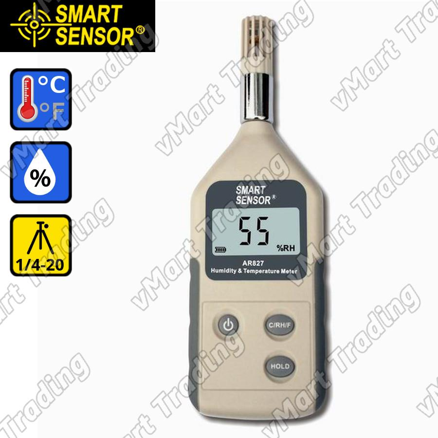 SmartSensor AR827 Professional Hygrometer + Thermometer