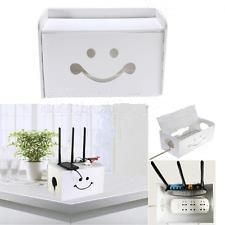 Smiling Face Cable Box Organizer
