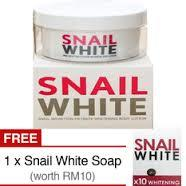 Snail White Whitening Body Lotion 250ml +Snail White Cleansing Soap