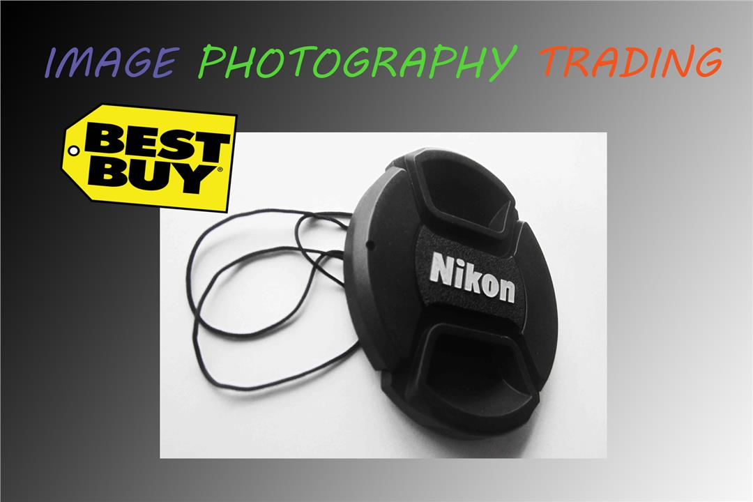 Snap-on Front Lens Cap 82mm For Nikon