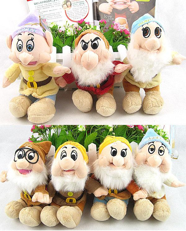 (SNOW WHITE) THE SEVEN DWARF Soft Toys (7in1) Set