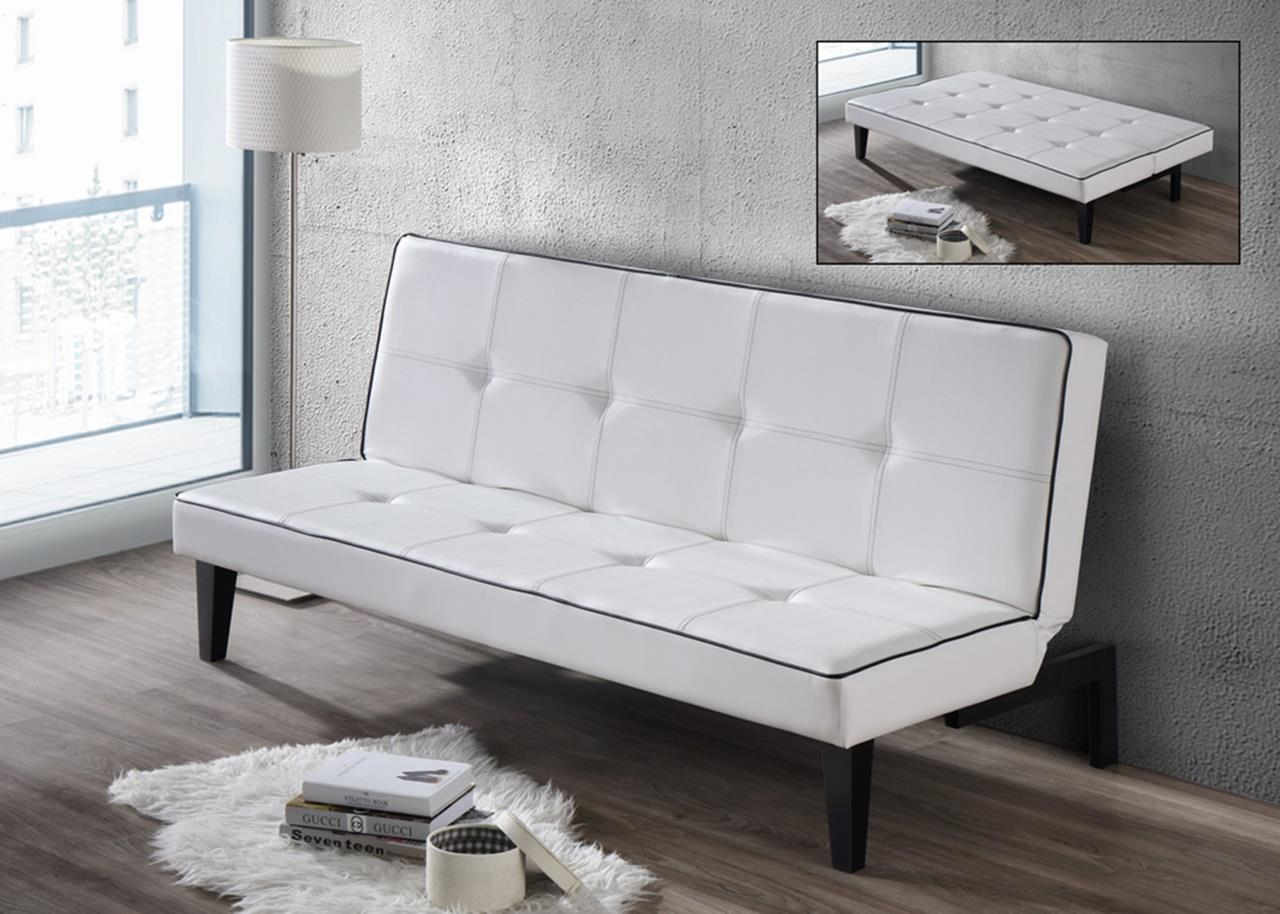 Sofa bed 04 white with free end 11 21 2017 2 15 pm myt for Sofa bed malaysia