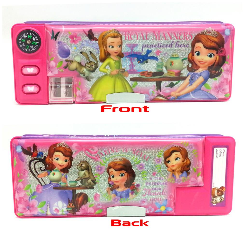 SOFIA THE FIRST MAGNETIC PENCIL CASE - Genuine Licensed