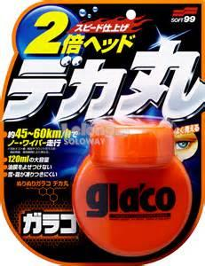 soft 99 GLACO G47 GLASS COMPOUND ROLL ON (100ml)