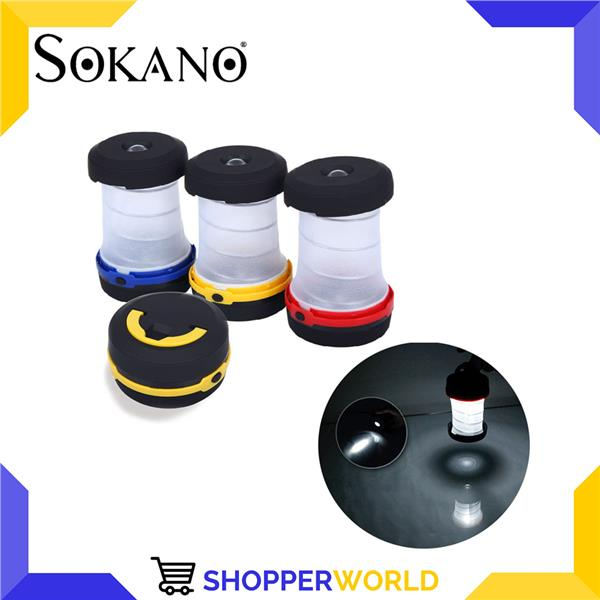 SOKANO Outdoor Lantern Lamp For Camping & Hiking (Random Colour)