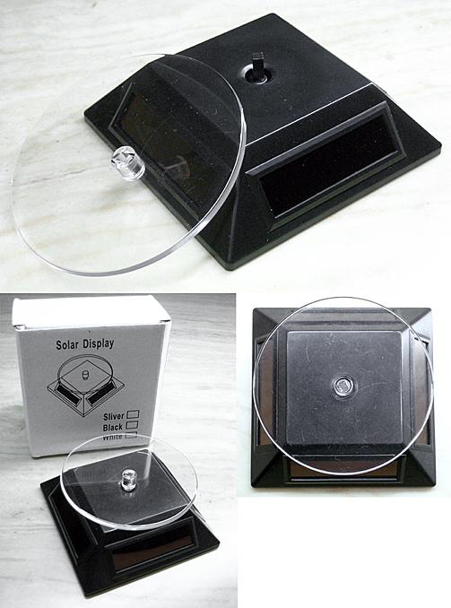 Solar Display Turntable