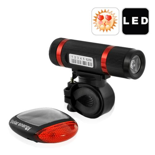 Solar Edition ~ Super Bright LED Bicycle Light Set