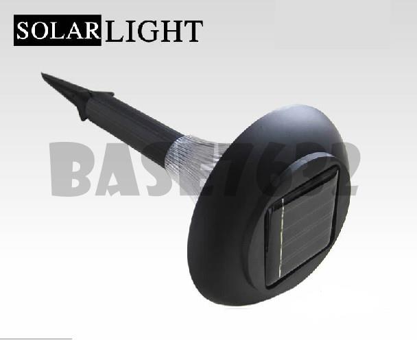 Solar Garden Lawn Light Outdoor Led Black 1280.1