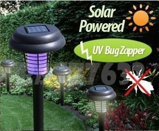 Solar Led UV Light Pest Insect Mosquito Control Repeller Bug Zapper