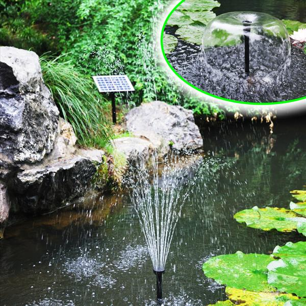 Solar panel brushless water pump pon end 7 31 2018 8 23 pm for Pond water system