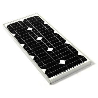 Solar Panel, Monocrystalline, 20Wp