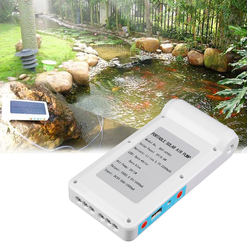 Solar power panel oxygen oxygenator end 1 23 2018 8 17 pm for Fish pond aerator