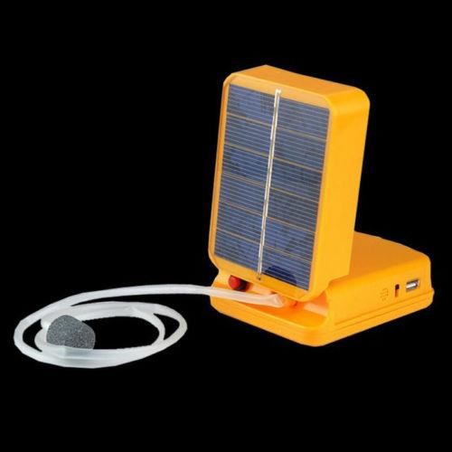 Solar power pond oxygenator air pump end 8 13 2017 8 15 pm for Solar fish for pools