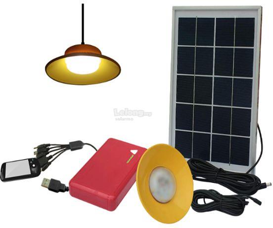SOLARMO Solar Home Lighting Light System - 6W