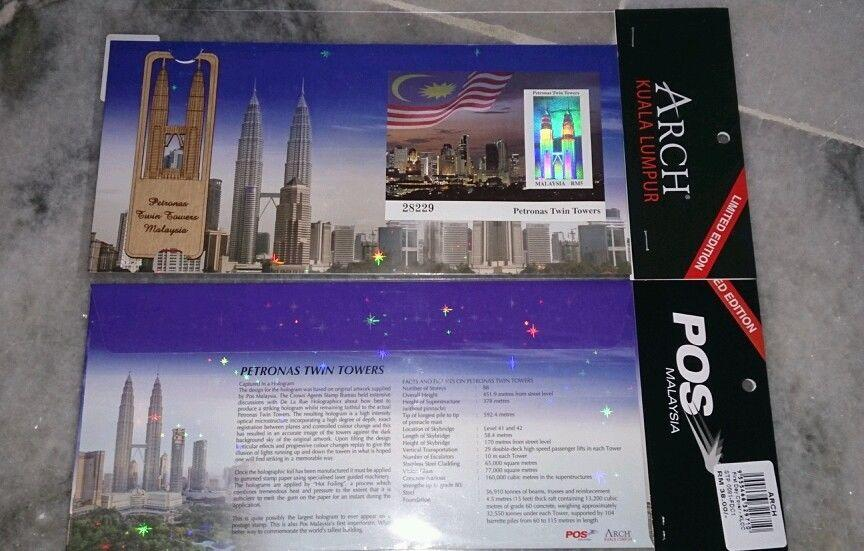 SOLD OUT ARCH Petronas Twin Towers Impef MS FDC