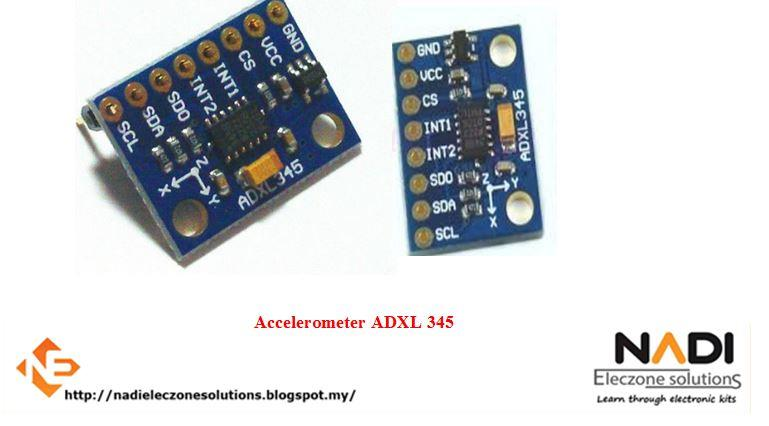Already Soldered Accelerometer ADXL345