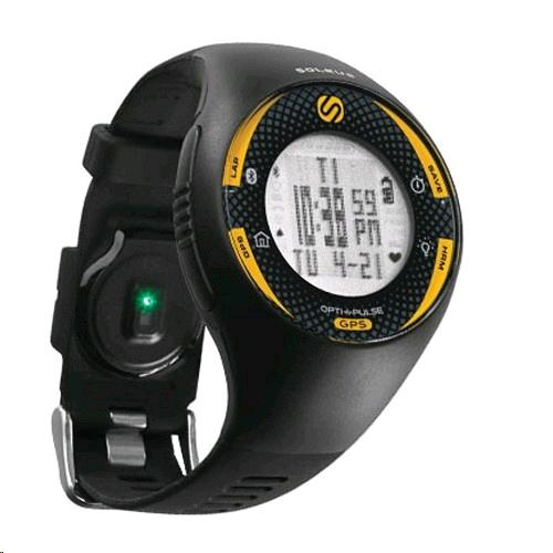 Soleus GPS Pulse with Bluetooth & HRM (Black/Yellow)