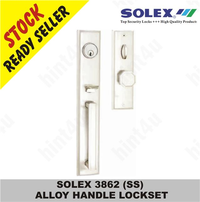SOLEX 3862 (SS) ALLOY HANDLE LOCKSET
