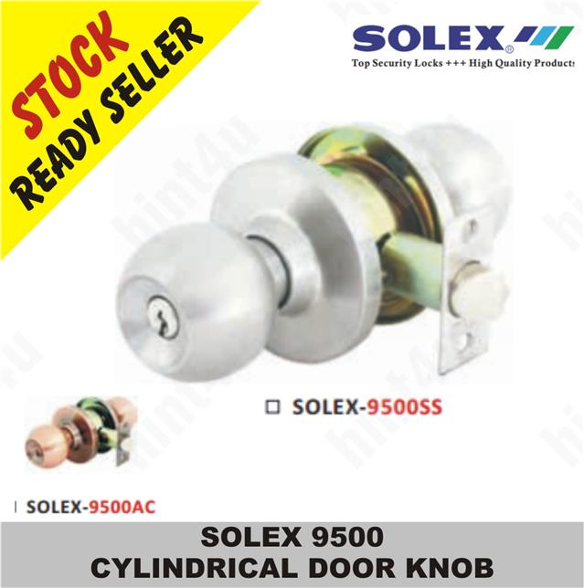 SOLEX 9500 CYLINDRICAL DOOR KNOB